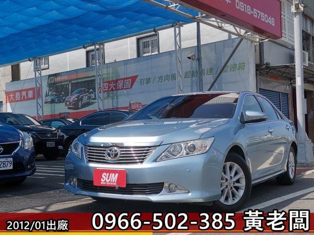 大發汽車→2012 Toyota Camry 2.0 E  第1張相片