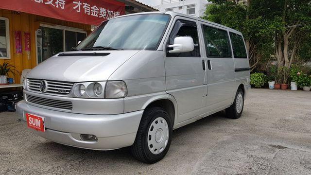 2004 VW T4 VR6 一手車、原鈑件、僅跑16.9萬公里