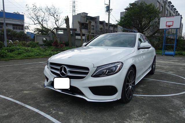 船長車庫 - 2015 BENZ W205 C300 AMG 豐富大滿配