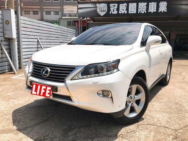 2013 頂級RX270 熱賣款 實跑十萬 新車味道濃濃