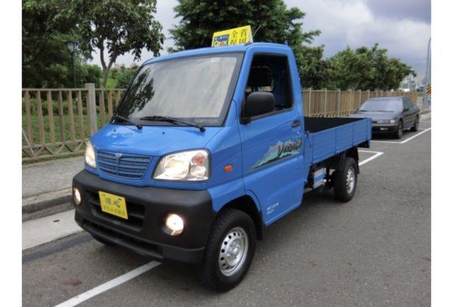 09年 中華菱利 1.2 藍色木床朔膠底板 車況極佳 生意好幫手 歡迎來店 可全貸