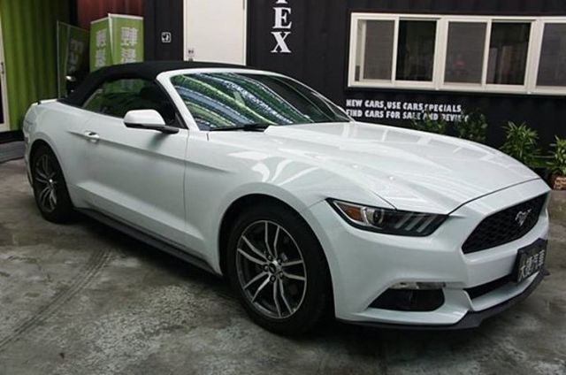 2016 Ford Mustang 2.3 Convertible 美規未領牌