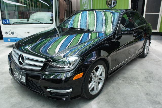 2012 Mercedes-Benz c250 美規 未領牌