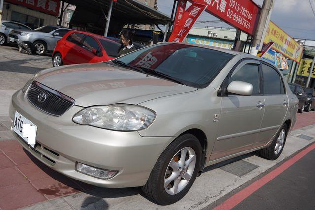 Toyota  Corolla Altis 2003款 自排 1.8L 車庫車 車況優