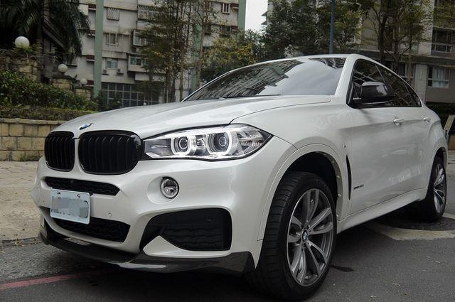 駿岳汽車 2016 X6 原廠選配75萬M套件 僅跑1萬 原漆原鈑件