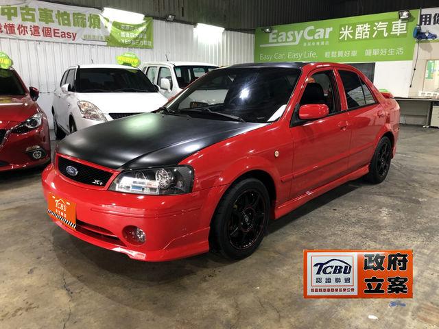 2003年福特 鐵爾瑞 RS 2.0L 正原廠手排車,帥氣亮眼黑紅配!