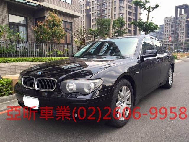 BMW 7 SERIES SEDAN E65  第1張相片