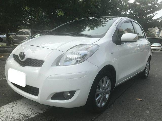 2010年 YARIS 1.5 G版 白色小鴨 市區省油的小車