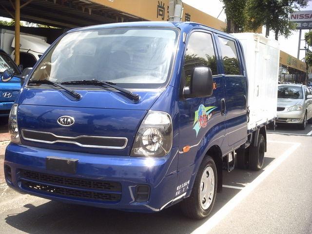 2012/6 新卡旺..雙廂.6輪柴油 3.5噸.2.5cc.可全貸.車美.有力  第1張相片