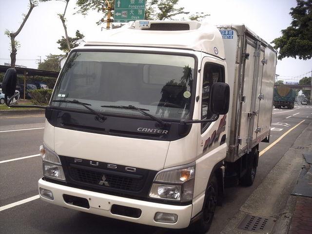 2010年 中華三菱 堅達3.5噸 11尺半.冷凍車.柴油.可全貸.HOT認證車  第1張相片