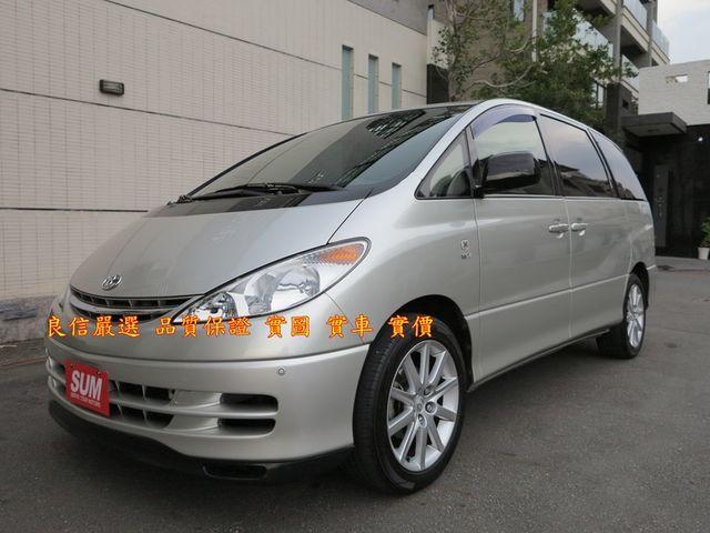 2002年 日本原裝進口  2.4cc 一手車 原鈑件 六人座 里程保證