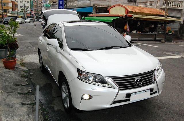 LEXUS 頂級新改款RX270 珍珠白超級漂亮 新車209萬  高雄麻吉課長