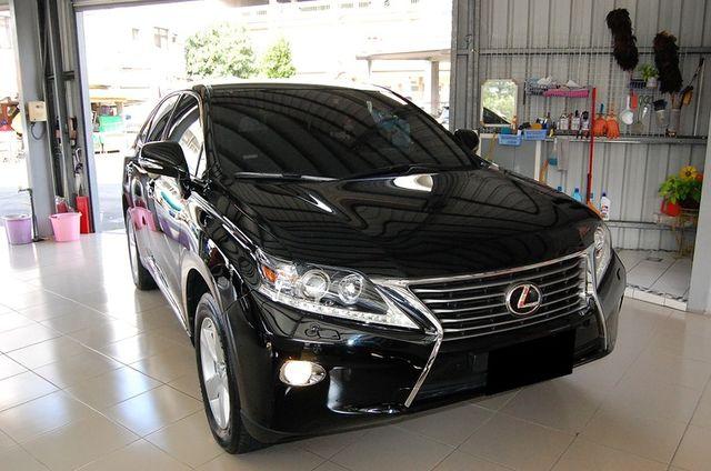 RX270黑色頂級款 如新黑內裝 全車無傷 難得稀有車種  高雄麻吉課長