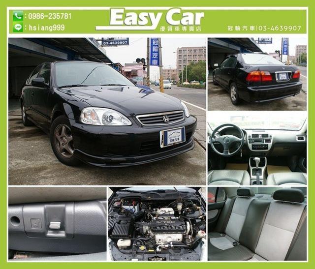 EasyCar冠輪汽車 2000 HONDA K8 自排 1.6 黑  第1張相片