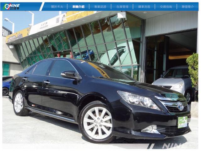 【禾太汽車優質嚴選】豐田冠美麗2.5頂級Q版天窗數位導航3TV等一手車