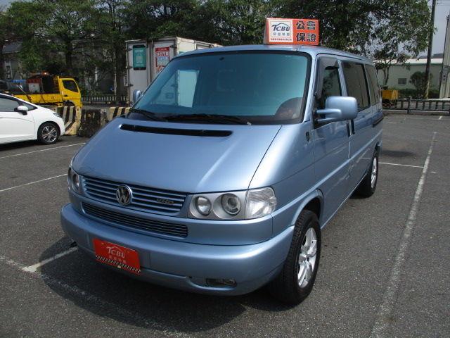 T4 VR6 稀有原廠藍 里程保證 永興汽車