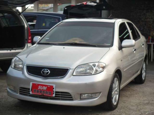 Toyota VIOS 1.5 頂級天窗G版~時尚都會小車 省油省稅金~一手車庫