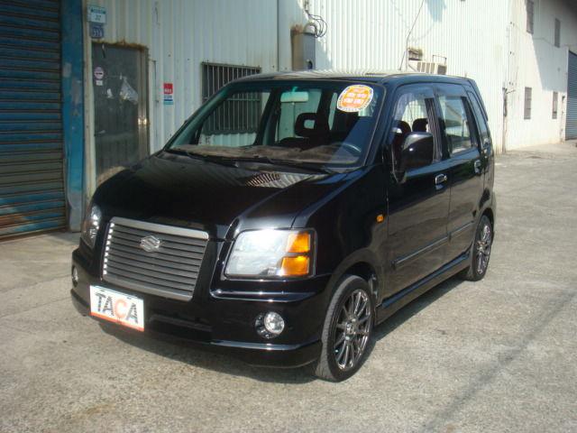 >~TACA優良車商聯盟~*{ 小林汽車 }* 正2004年 SUZUKI SOLIO 鈴木 所力歐 1.3 黑色 轎車版 黑紅雙色內裝