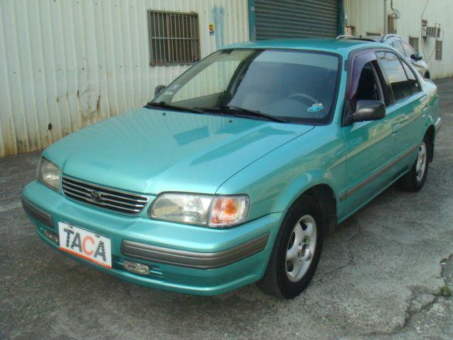 >~TACA優良車商聯盟~*{ 小林汽車 }* 正1998年 TOYOTA TERCEL 豐田 特色兒 1.5 綠色 自排