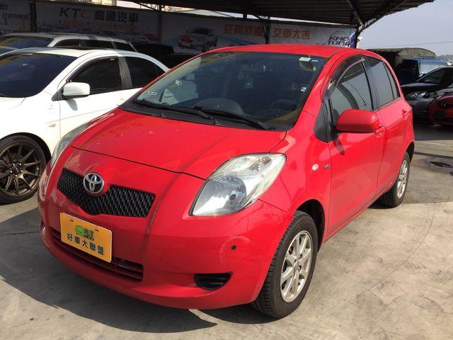 2006年 TOYOTA YARIS 1.5L 紅色 一手女用車 熱銷排名第一