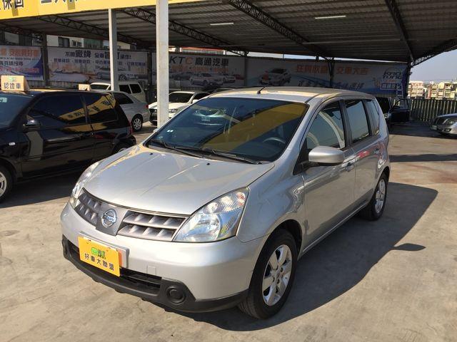 2013年 NISSAN LIVINA 1.6L 銀色 一手家庭用車