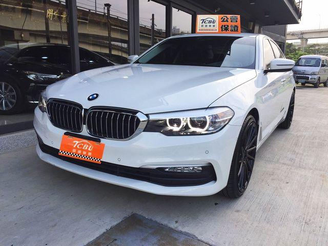 2017 BMW 520d 總代理 僅跑五千如新車