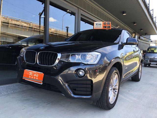 2016 BMW X4 x Drive 20i 僅跑1.4萬 原廠保固中