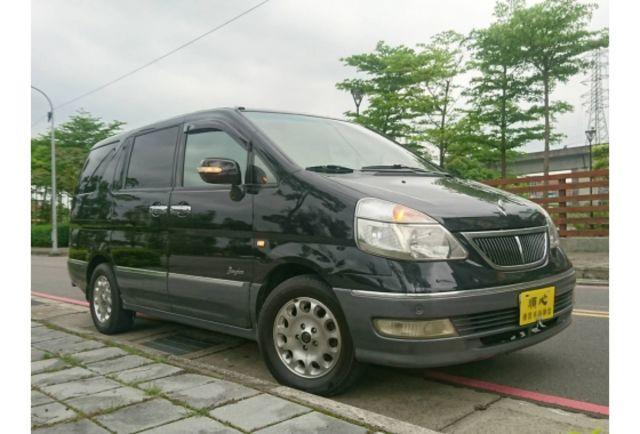 2004年 日產 QRV 2.0L 頂級款 一手車 晟昇汽車