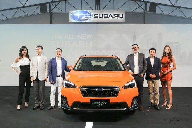 意美汽車集團All-New SUBARU XV跨界潮旅亞太區首發於台灣盛大發表