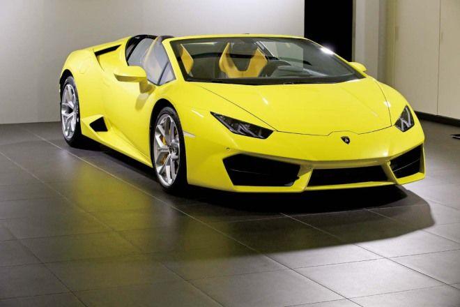 新名字新敞篷Lamborghini Huracan RWD Spyder