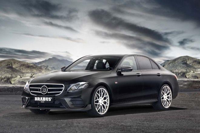 就算是熟男也有改裝基因,Brabus Mercedes-Benz E-Class登場