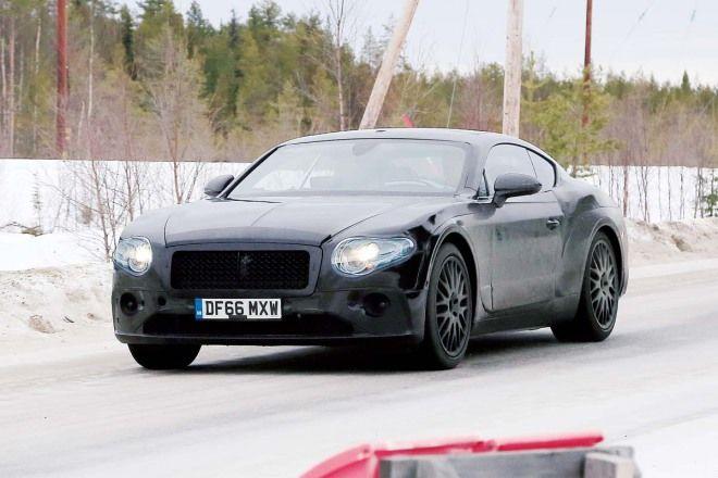 這部概念車看起來是快要成真了Bentley Continental GT