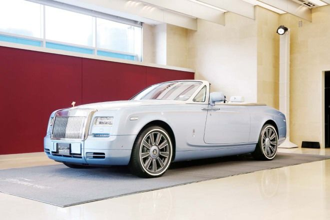 世界唯一Rolls-Royce the Blue Magpie Phantom Drophead Coupe