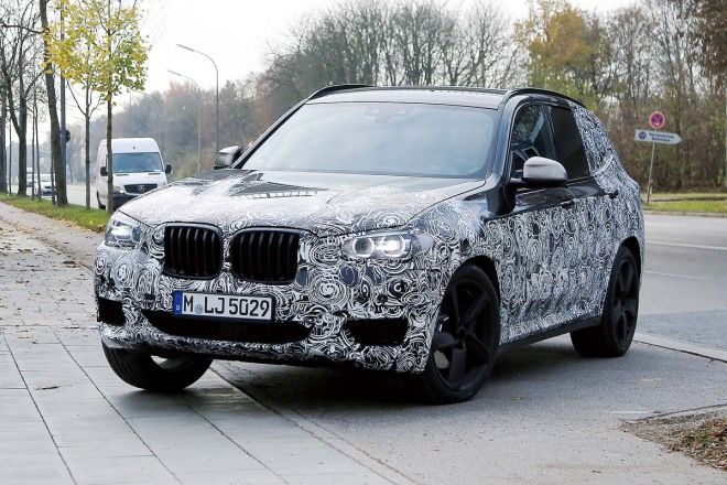 SUV連打!BMW X3、Audi Q3與Ford Explorer現蹤