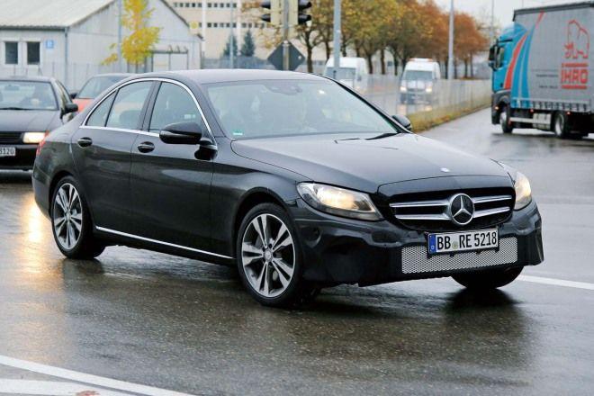 M.Benz C-Class小改款,燈具將會出現較為明顯的改變
