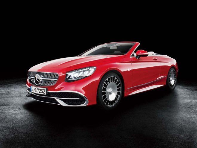富豪也想吹吹風Mercedes-Maybach S650 Cabriolet