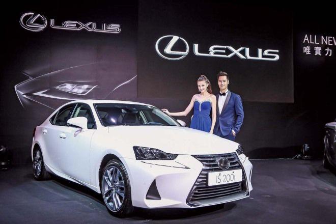 15萬元LSS+主動安全系統入列 小改款Lexus IS