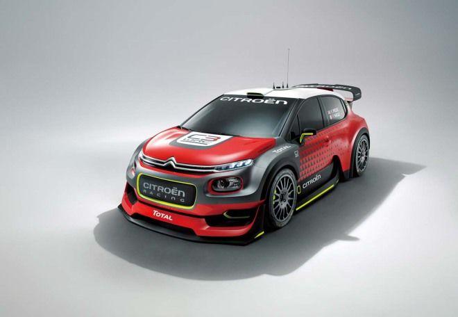 Citroen C3 WRC Concept380hp強悍動力