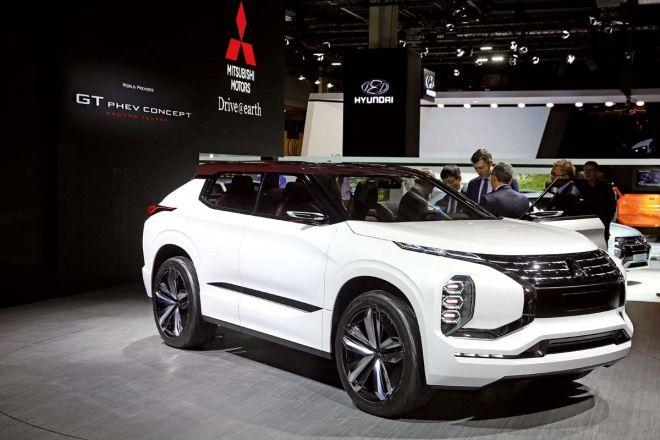 次世代Pajero預覽?Mitsubishi GT-PHEV Concept