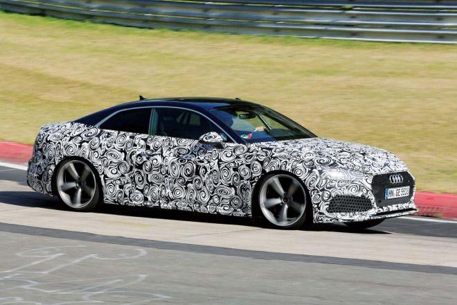 把V8丟了Audi RS5