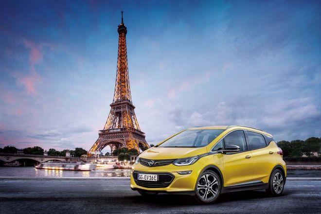 Opel 旗下首款電動車Ampera-e