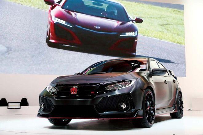 國民熱血里程碑Honda Civic Type R