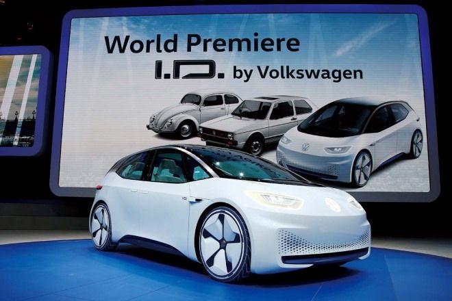 概念即將成真VW I.D. Concept