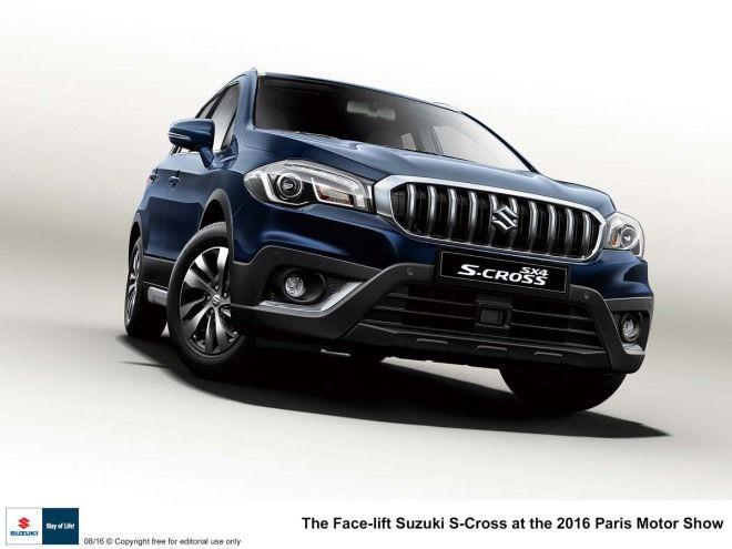 Suzuki小改SX4 Crossover預計巴黎車展登場