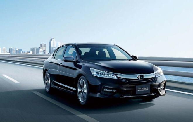 改換日規油電上場  Honda Accord Hybrid