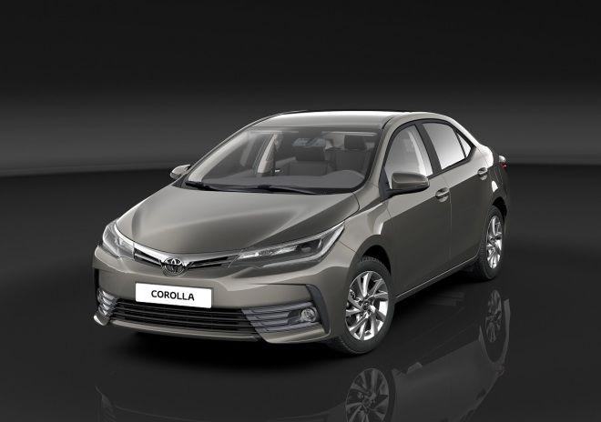走歐規小改款式樣國產Toyota Corolla Altis