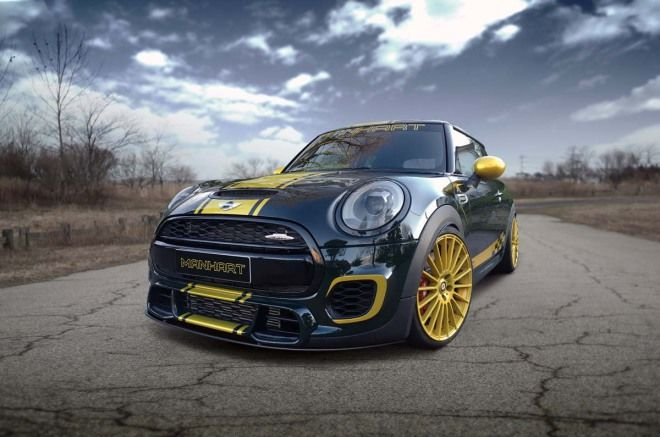 閃亮亮的30週年Manhart Racing Mini JCW F300