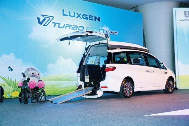 專為行動不便人士打造Luxgen V7 Turbo Eco Hyper福祉車