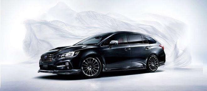 引頸期盼 Subaru Levorg STi