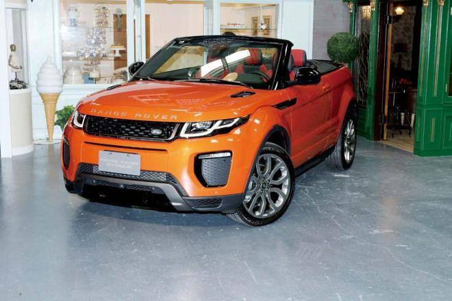 敞篷就是帥Land Rover Range Rover Evoque Convertible